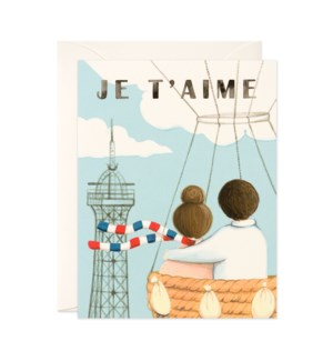 Eiffel Tower Couple|JooJoo