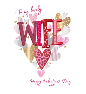 Lovely Wife Hearts|Ling Design