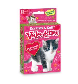 Kitty Scratch & Sniff Valentine
