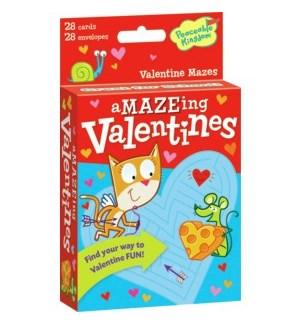 Valentine Mazes Card Pack