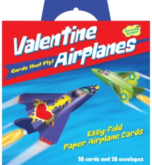 Valentine Airplanes Super Valentine