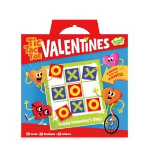 Tic Tac Toe Super Valentine