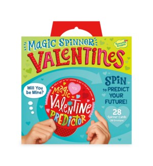 Magic Valentine Spinner Cards Super Valentin