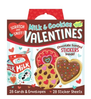 Milk & Cookies Super Valentine