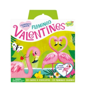 Flamingo Charm Super Valentine