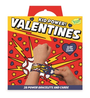 Kid Power! Slap Bracelet Super Valentine