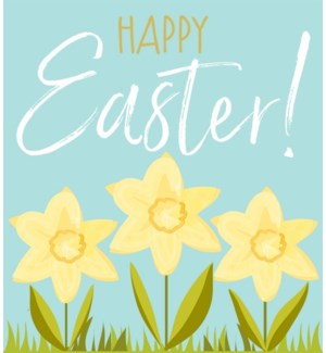 Happy Easter Daffodils|Think of Me