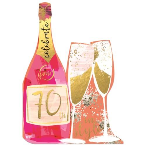 Champagne Bottle|Winged Hat