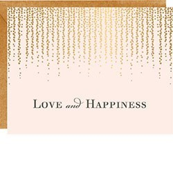 Love and Happiness Foil|Waste Not Paper