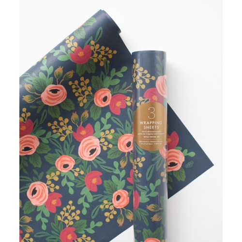 Single Rosa Wrapping Sheet (Flat)