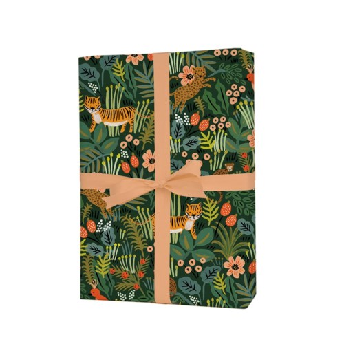 Single Jungle Wrapping Sheets (Flat)