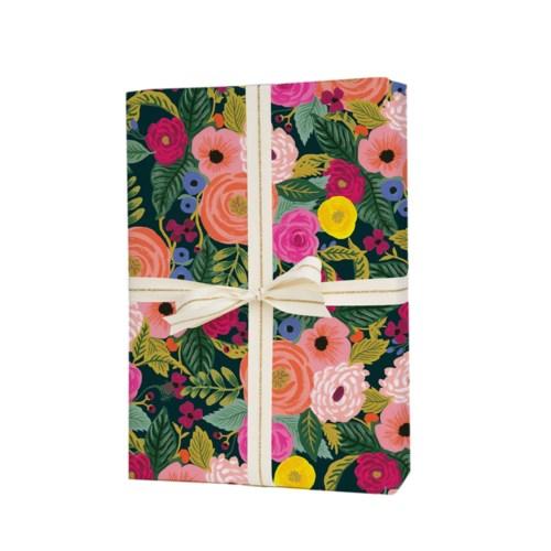Single Juliet Rose Wrapping Sheet (Flat)
