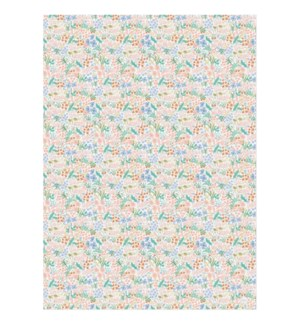 Roll of 3 Meadow Pastel Wrapping Sheets
