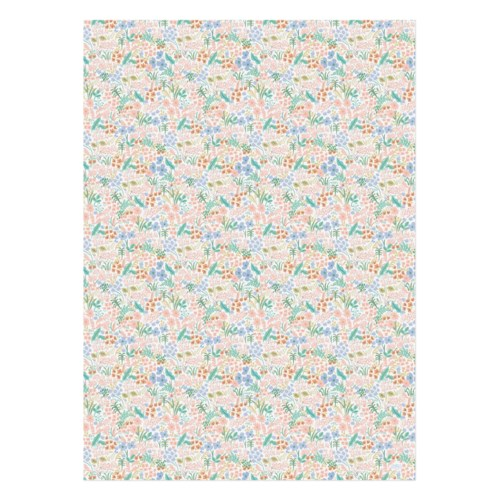Single Meadow Pastel Wrapping Sheet (Flat)