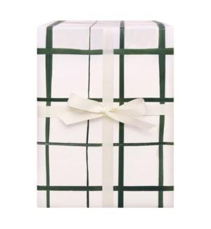 Emerald Grid Wrap Sheet