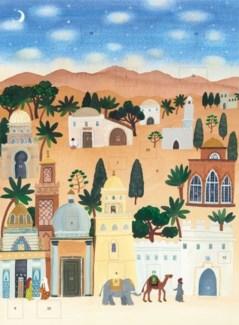 Bethlehem Advent Art Angels