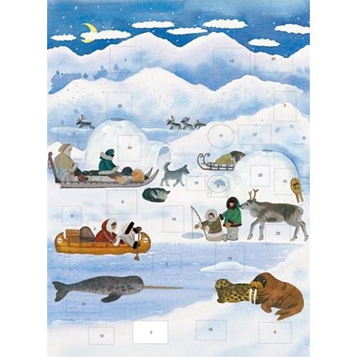North Pole Advent Art Angels