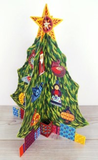 Advent Tree Art Angels