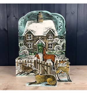 ADVENT-Christmas Cottage|Art Angels