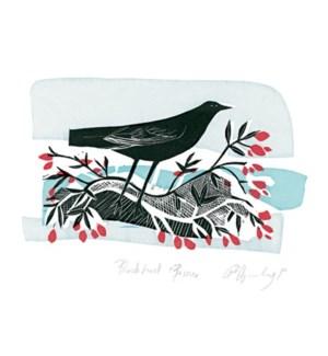 Blackbird & Berries Art Angels