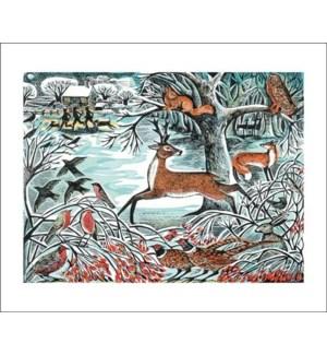 Winter Woodland Art Angels