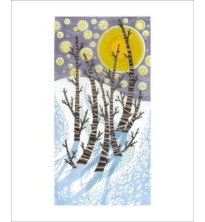 Snow Birches Art Angels