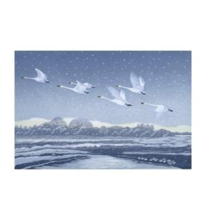 Snow Flight Art Angels