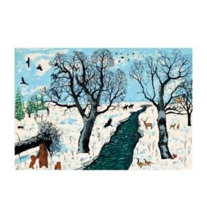 Winter Life Art Angels