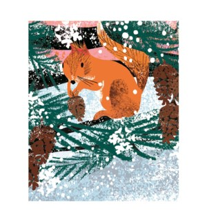 Winter Squirrel|Art Angels