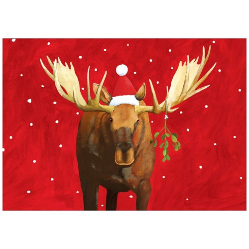 BOX-Mistletoe Moose|Allport