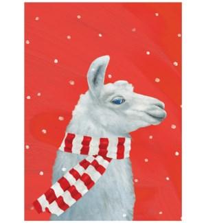 Cozy Llama Holiday/15's|Allport