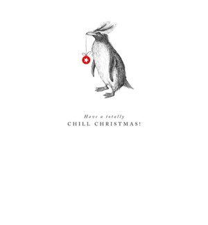 Chill Christmas Penguin |Z