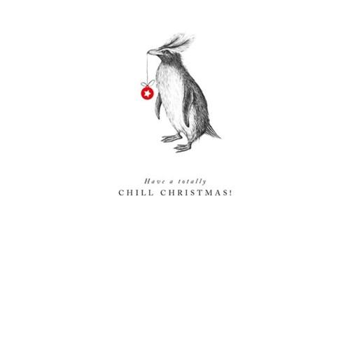 Chill Christmas Penguin |Z