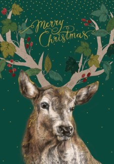 Merry Christmas Stag |Z