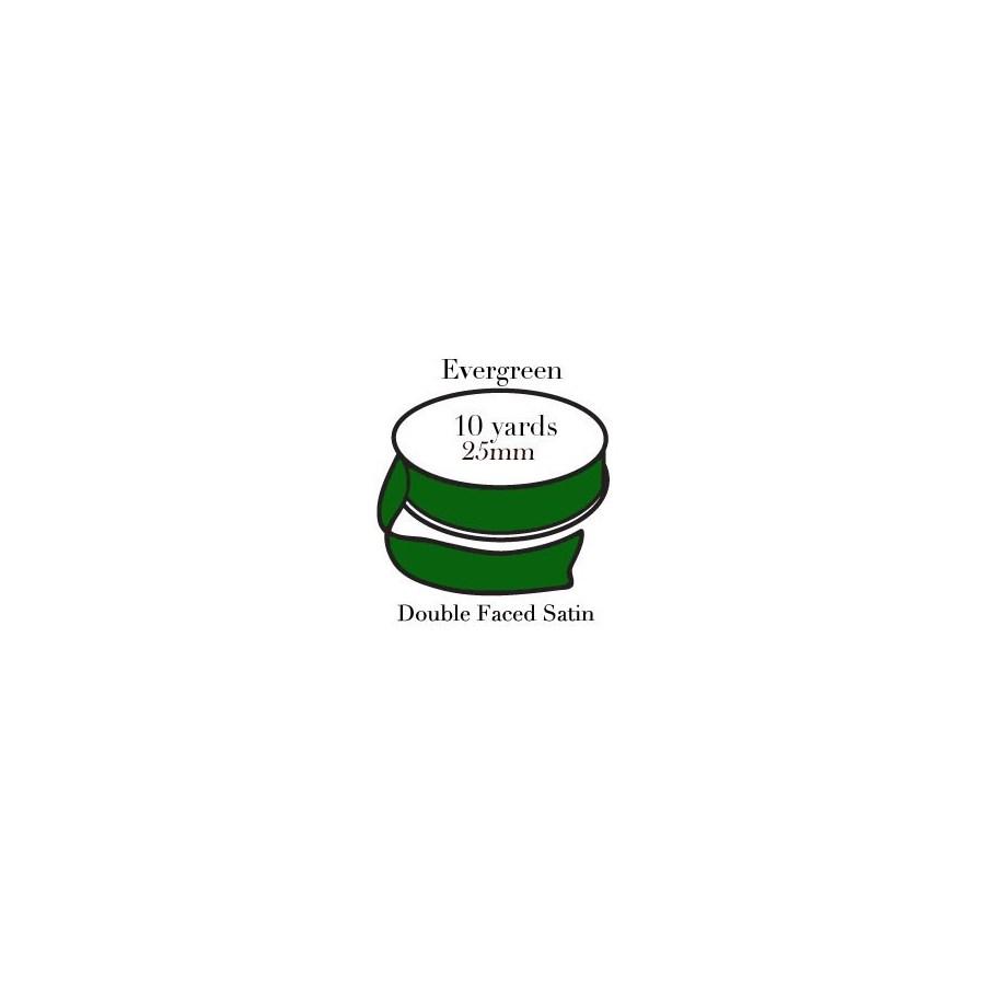 RIBBON-Evergreen One Inch|Pohli