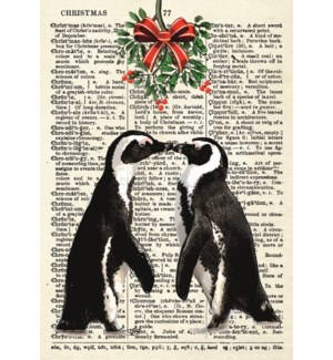 The Christmas Penguin Lovers|Art Press