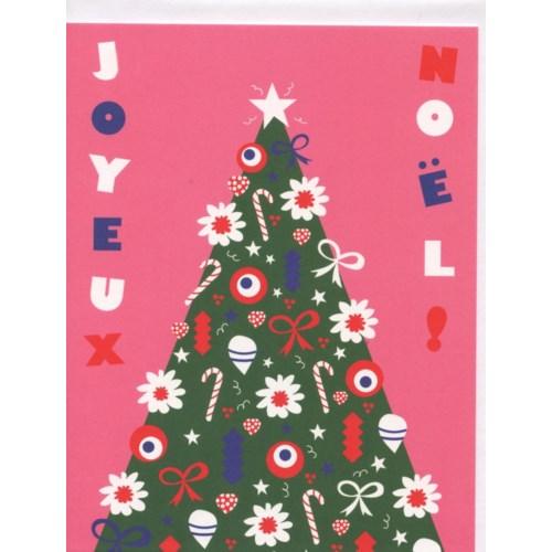 Joyeux Noel Foil Sapin Bien A Vous