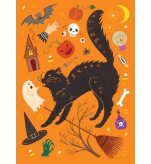 Scared Black Cat Calypso