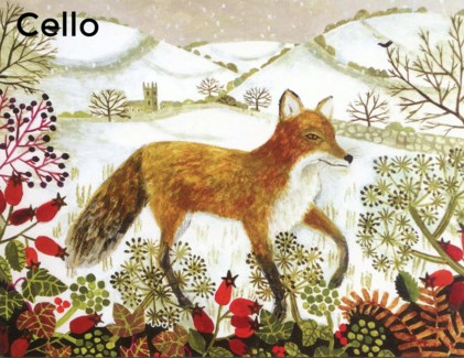 Fox In The Snow - Cello Pack Of 5|Canns Down