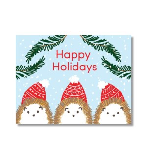 HEDGEHOG HOLIDAYS|Designs by Val