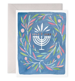 Peaceful Menorah|E Frances Paper