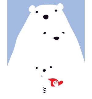 polar bear family 4.25x5.5|Great Arrow