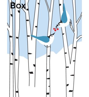BOX-Two Birds in Birches Great Arrow