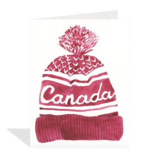 Red Canada Hat cello pack of 5|Halfpenny