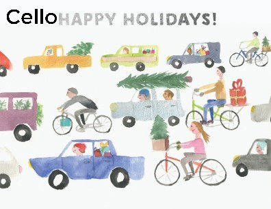 Holiday Traffic cello pack of 5|Halfpenny