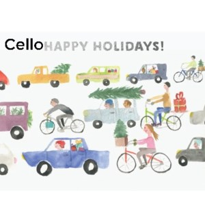 Holiday Traffic CELLO 5|Halfpenny