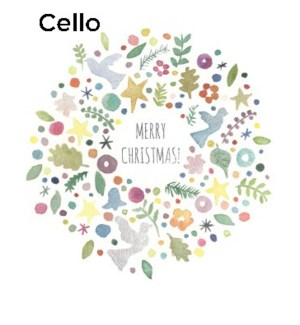 Wreath Things CELLO 5|Halfpenny