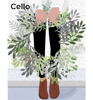 Girl with Wreath CELLO 5|Halfpenny