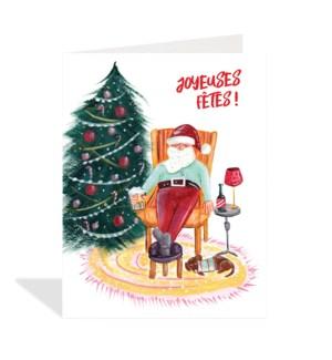 Joyeuses Fetes Santa|Halfpenny