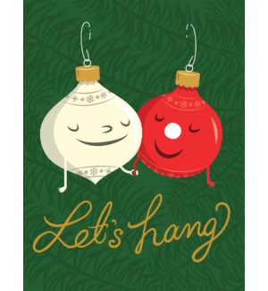 Lets Hang Christmas Decorations|Halfpenny